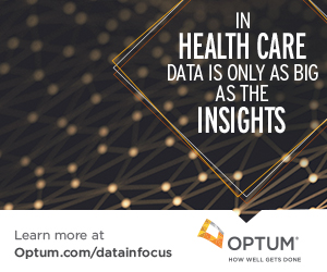 Data in Focus, Optum health care data & analytics livestream event, Aug 1